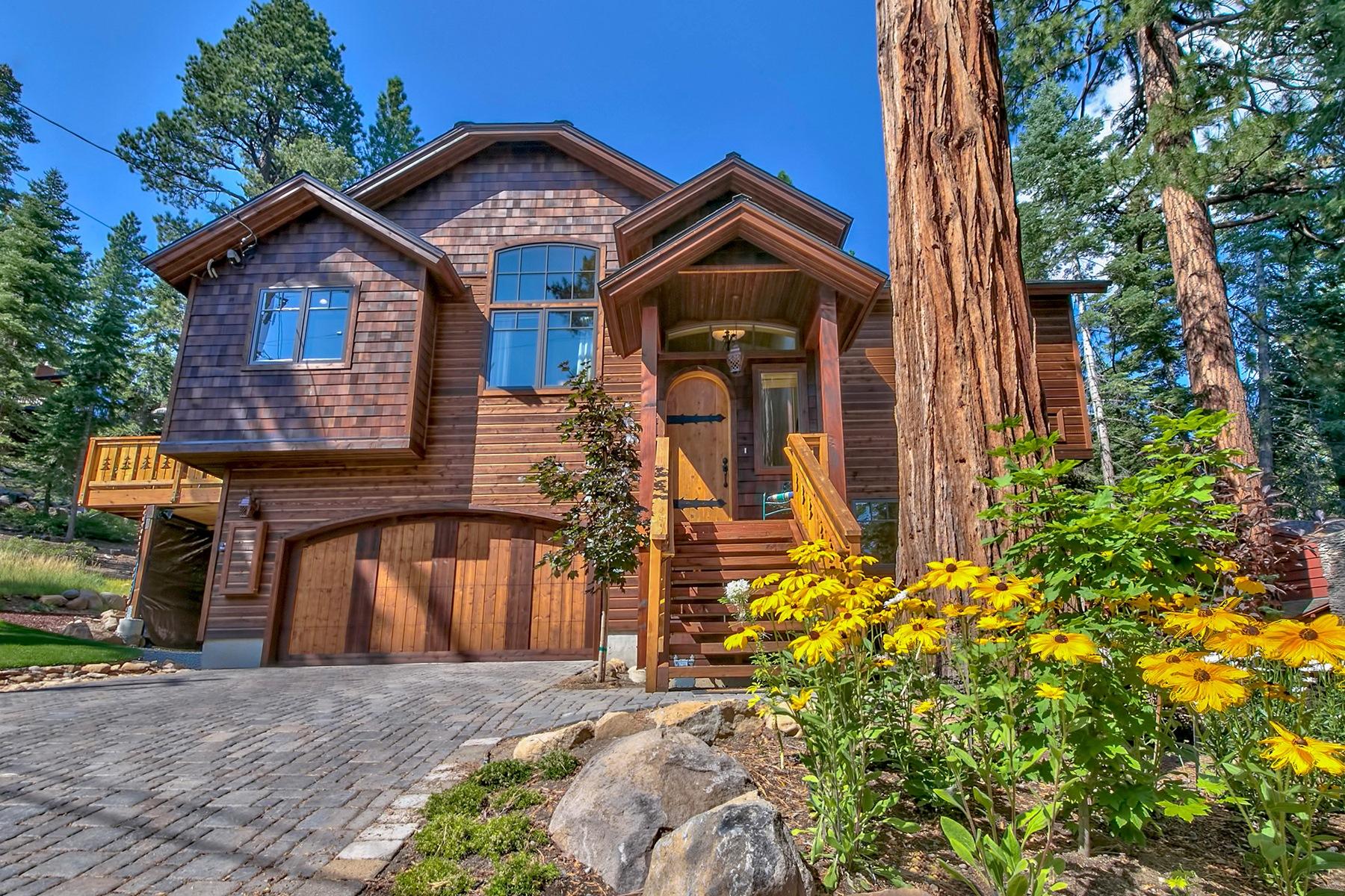 Casa para uma família para Venda às 6463 Wildrose Drive Tahoe Vista, Califórnia, 96148 Estados Unidos