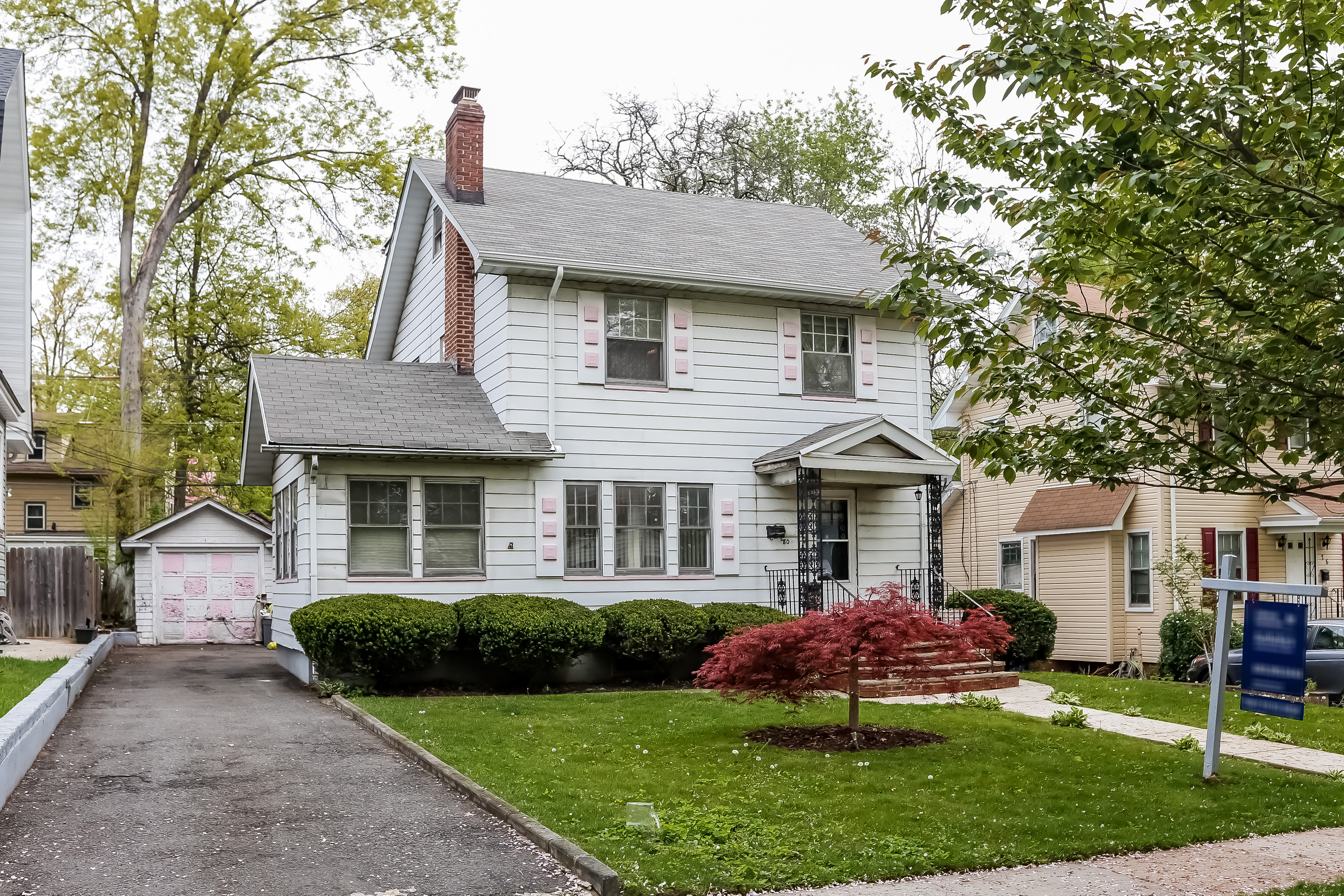 Single Family Home for Sale at Three Bedroom Colonial 80 Elliott Place East Orange, New Jersey 07018 United States