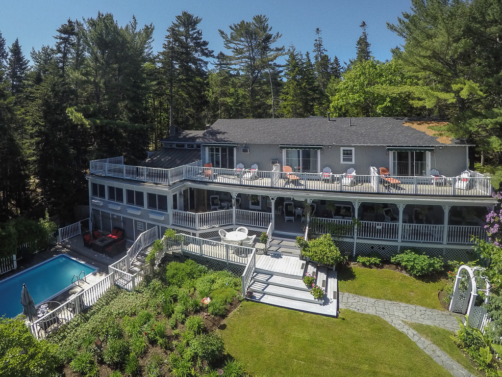 Single Family Home for Sale at 150 & 157 Sand Point Road Bar Harbor, Maine 04609 United States