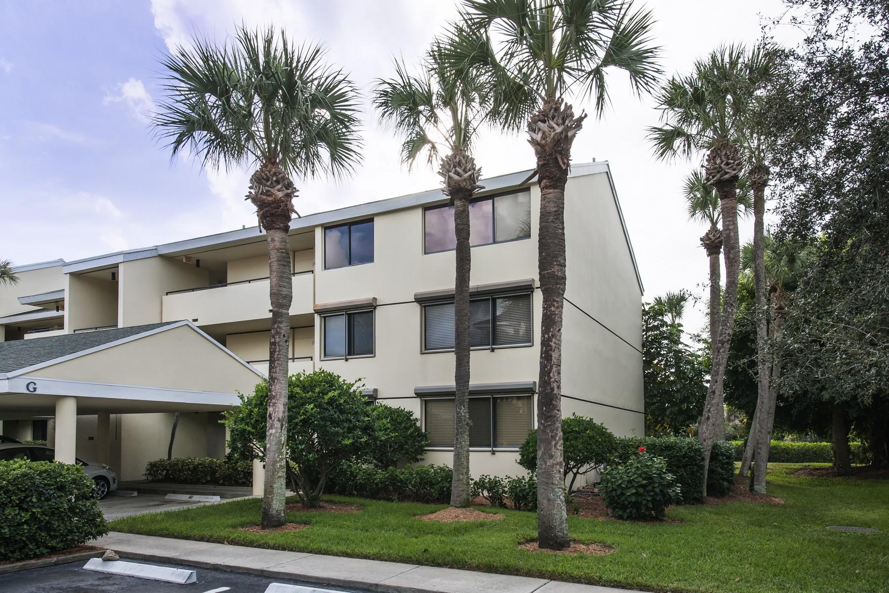 콘도미니엄 용 매매 에 Superb corner unit in Tarpon Island Club 1845 Tarpon Lane#G306 Vero Beach, 플로리다 32960 미국