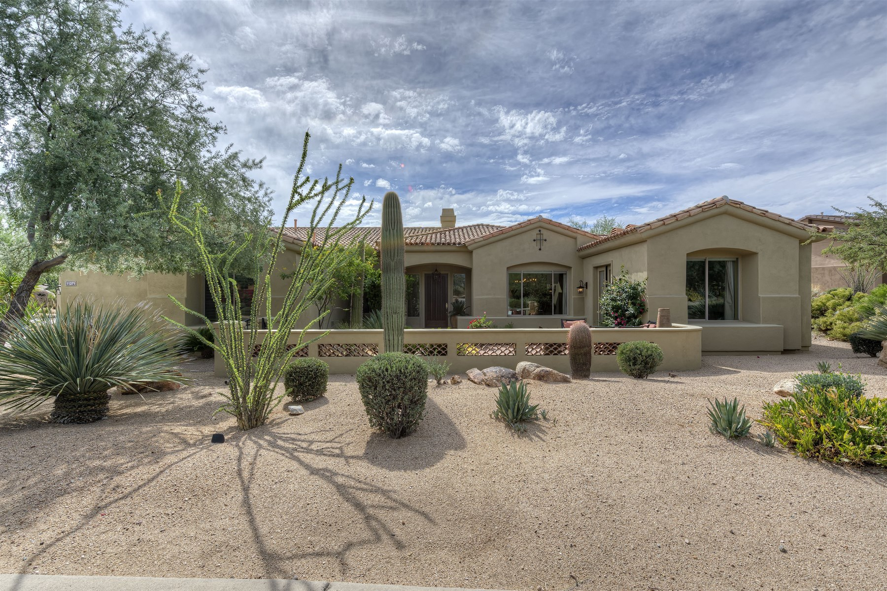 Property For Sale at Stunning and timeless home in gated Desert Summit