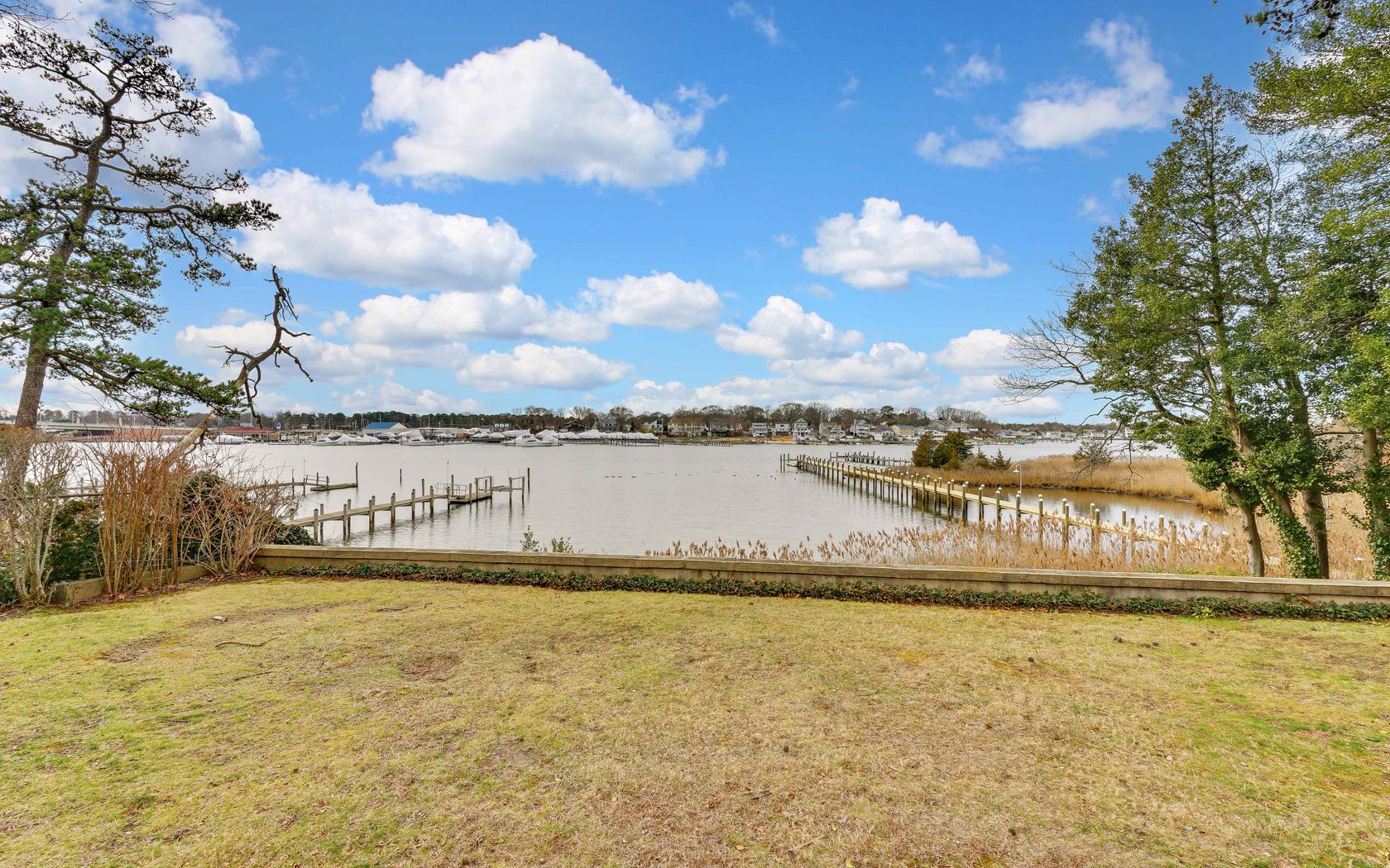 Single Family Home for Sale at Tranquil Manasquan Riverfront 2639 River Rd Wall, New Jersey, 08736 United States