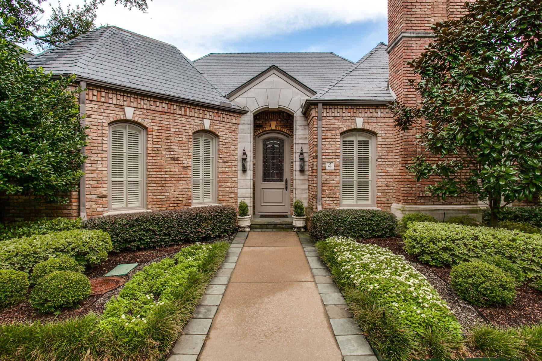 Casa Unifamiliar por un Venta en Perfectly Beautiful Home 4 Lakeside Park Dallas, Texas, 75225 Estados Unidos