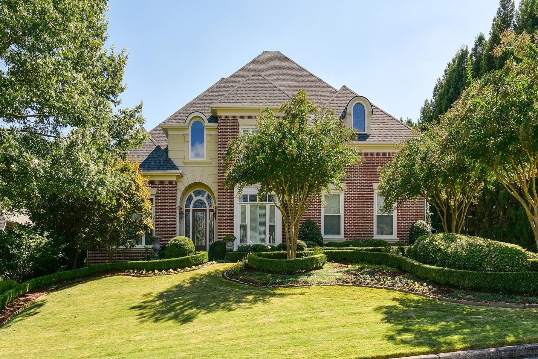 단독 가정 주택 용 매매 에 Elegant, Gracious Home In Premier East Cobb Neighborhood 936 Saint Lyonn Courts Marietta, 조지아, 30068 미국