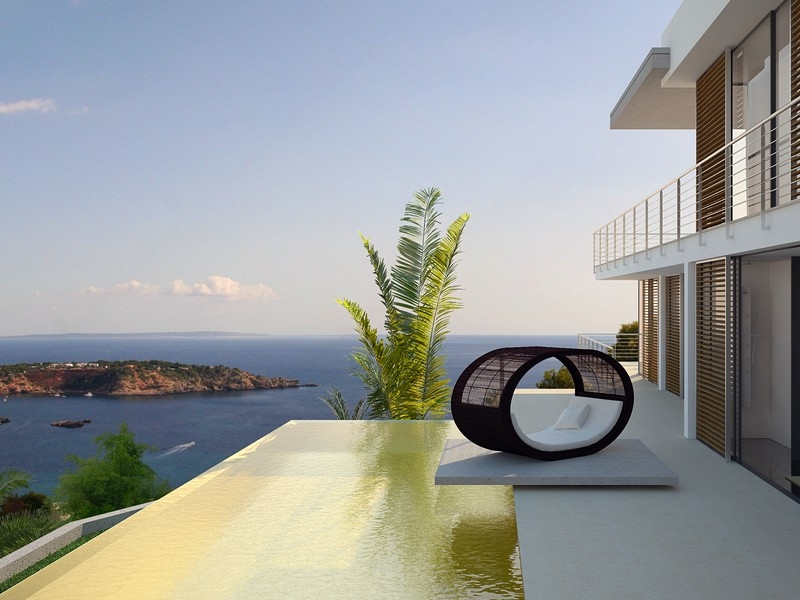Maison unifamiliale pour l Vente à Project With License To Build In Vista Alegre San Jose, Ibiza, 07830 Espagne
