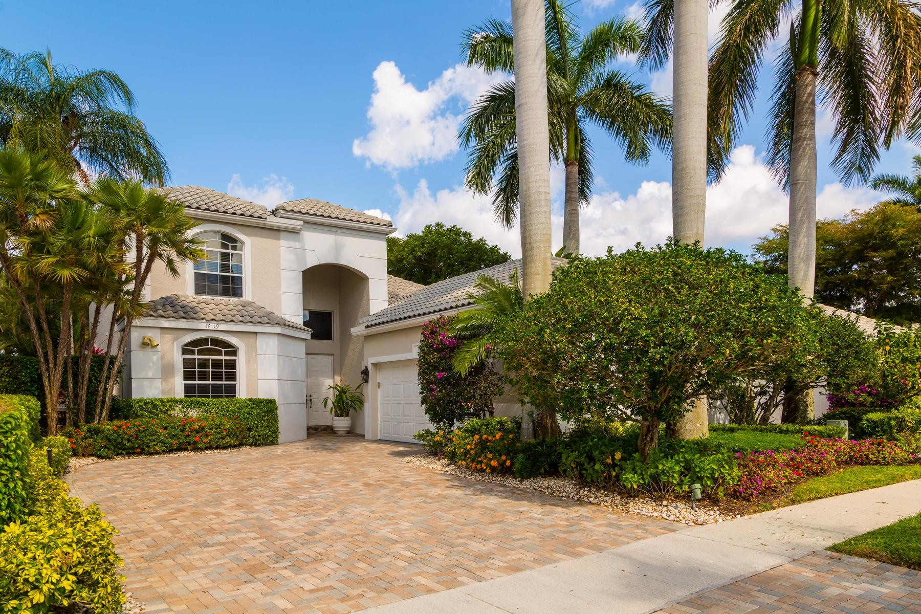 단독 가정 주택 용 매매 에 16119 Villa Vizcaya Place Addison Reserve, Delray Beach, 플로리다, 33446 미국