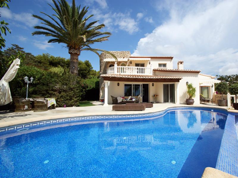 Single Family Home for Sale at Waterfront Villa in Moraira-Costa Blanca-Benissa Moraira, Alicante Costa Blanca 03203 Spain