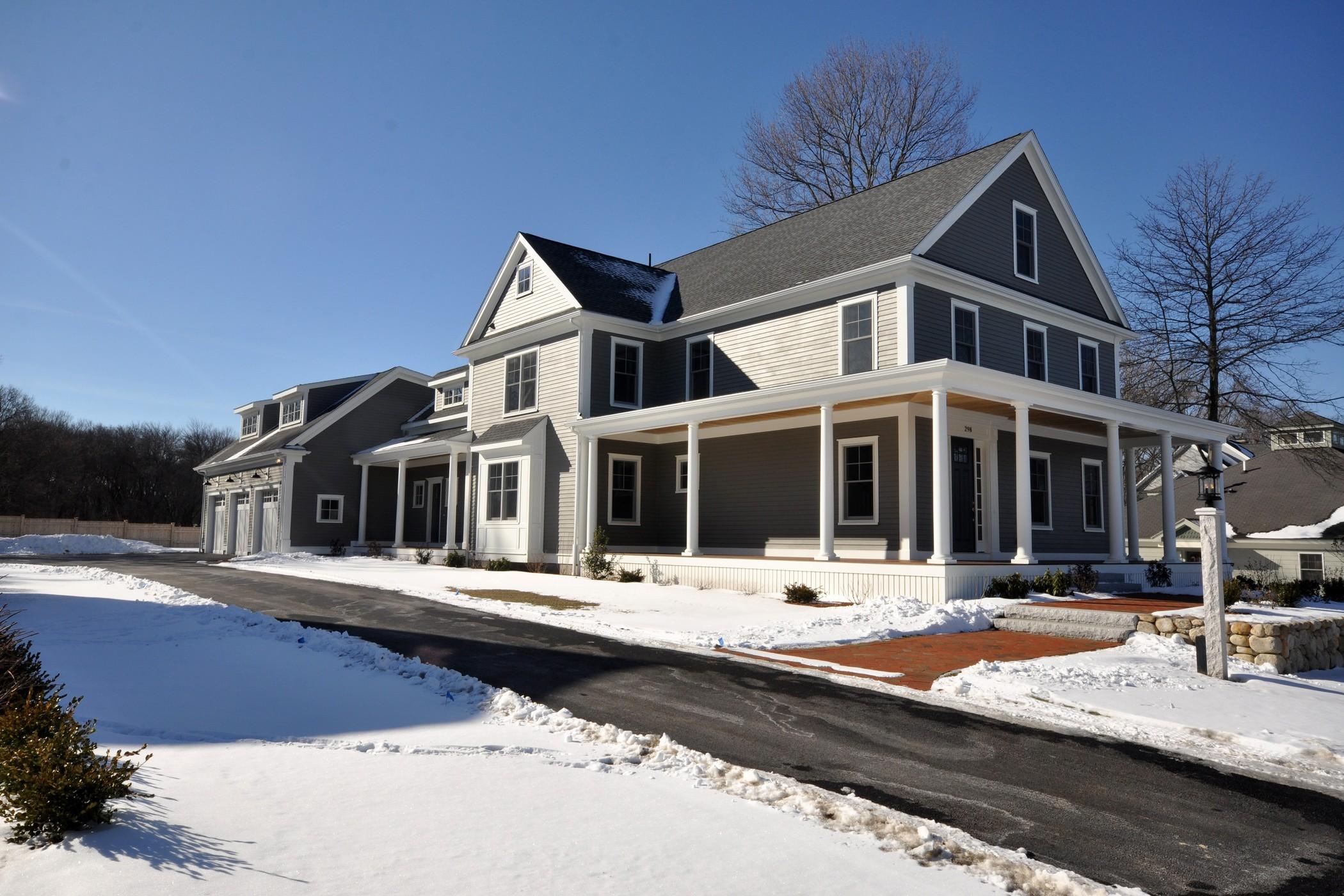 Tek Ailelik Ev için Satış at Exciting New Construction 298 Thoreau Street Concord, Massachusetts 01742 Amerika Birleşik Devletleri