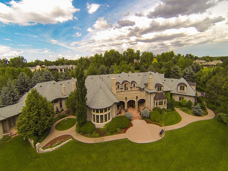 Single Family Home for Active at Greystone Manor Boasts Spectacular Mountain Views 22 Cherry Hills Park Drive Cherry Hills Village, Colorado 80113 United States