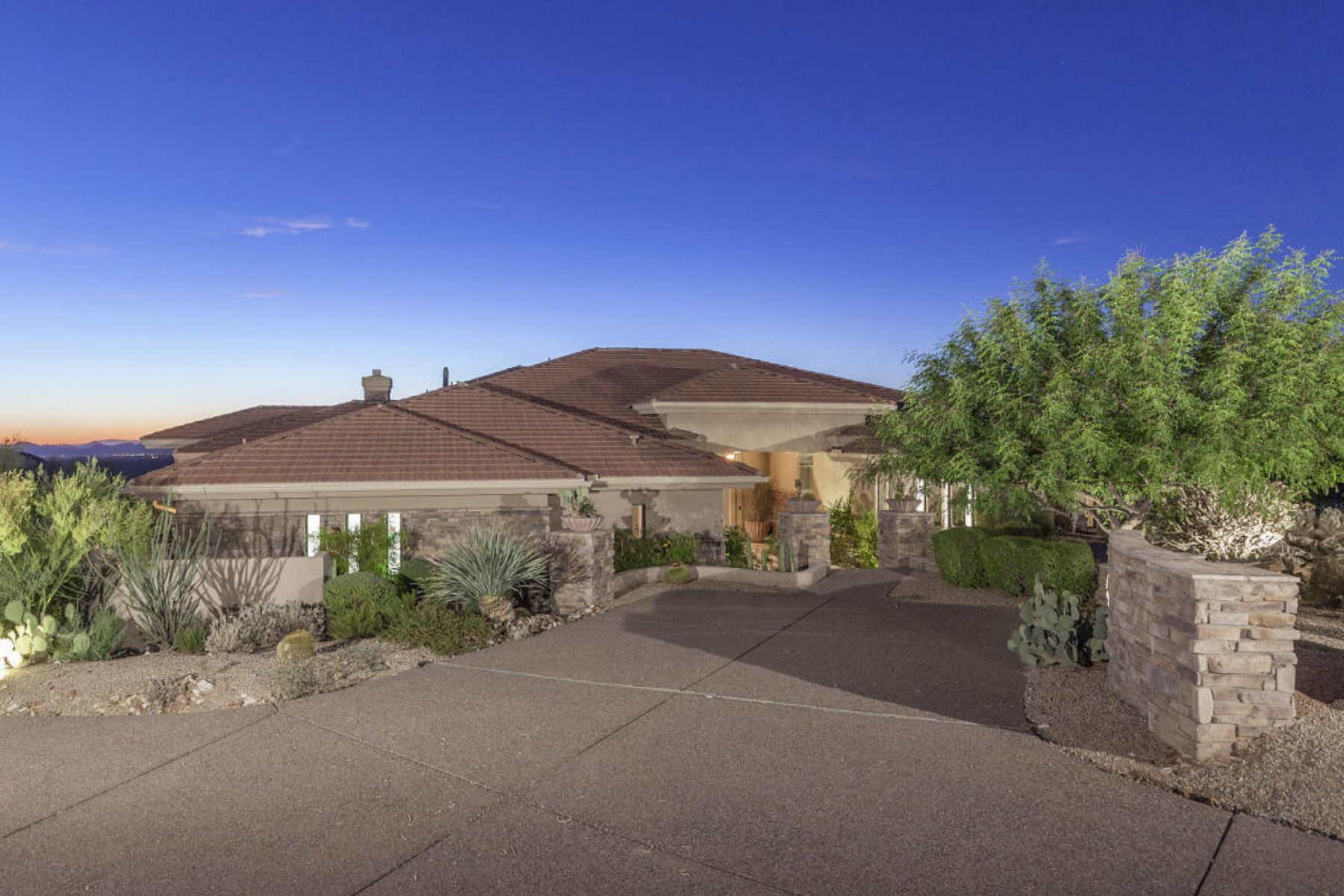 Property For Sale at Beautiful Home on Estancia Golf Course with Spectacular Panoramic Views