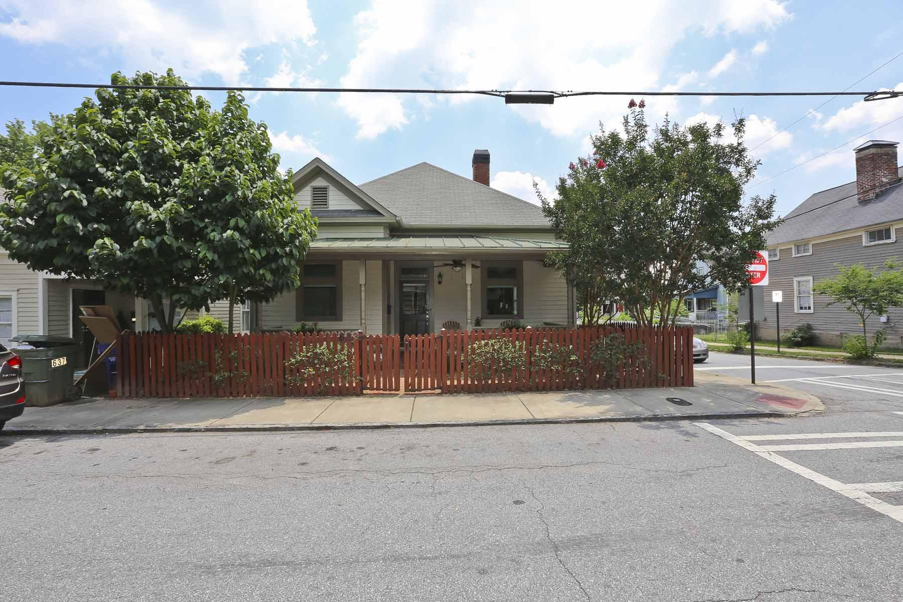 Einfamilienhaus für Verkauf beim Corner Craftsman In Cabbagetown 633 Gaskill Street SE Cabbagetown, Atlanta, Georgia, 30316 Vereinigte Staaten