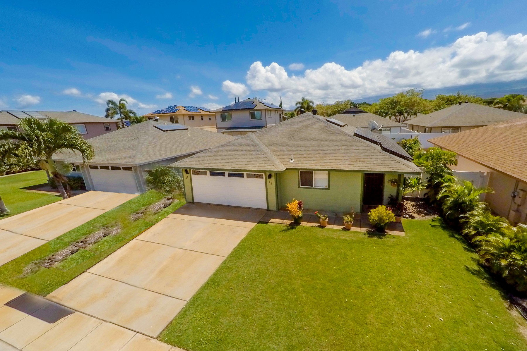 Single Family Home for Sale at Kihei market is HOT, but PV keeps this home COOL! 46 Noolu Street Kihei, Hawaii 96753 United States