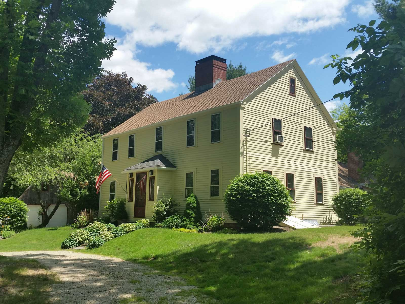 Single Family Home for Sale at Stately Colonial in Eliot 196 Fore Road Eliot, Maine 03903 United States