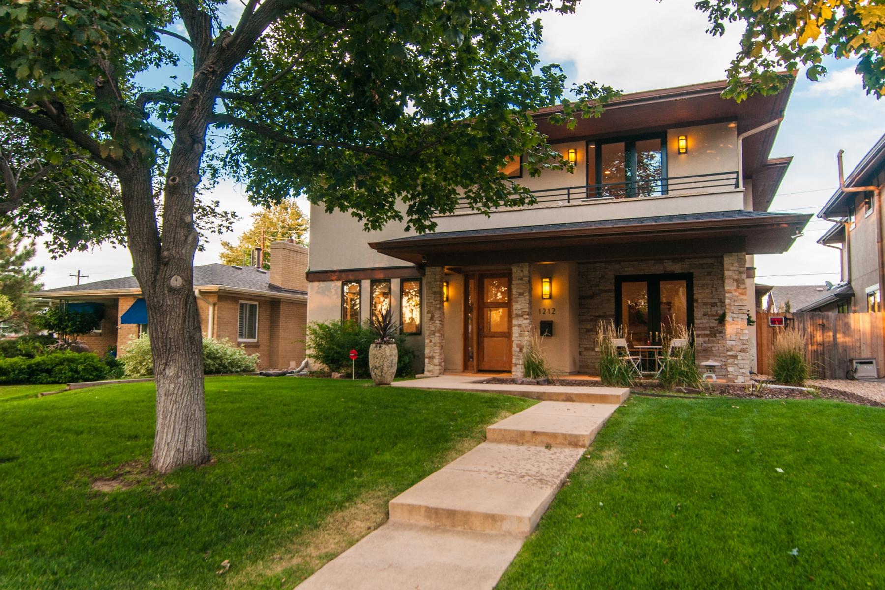 Moradia para Venda às Magnificent home located in the desirable Cory Merrill neighborhood 1212 S Saint Paul St Cory-Merrill, Denver, Colorado 80210 Estados Unidos