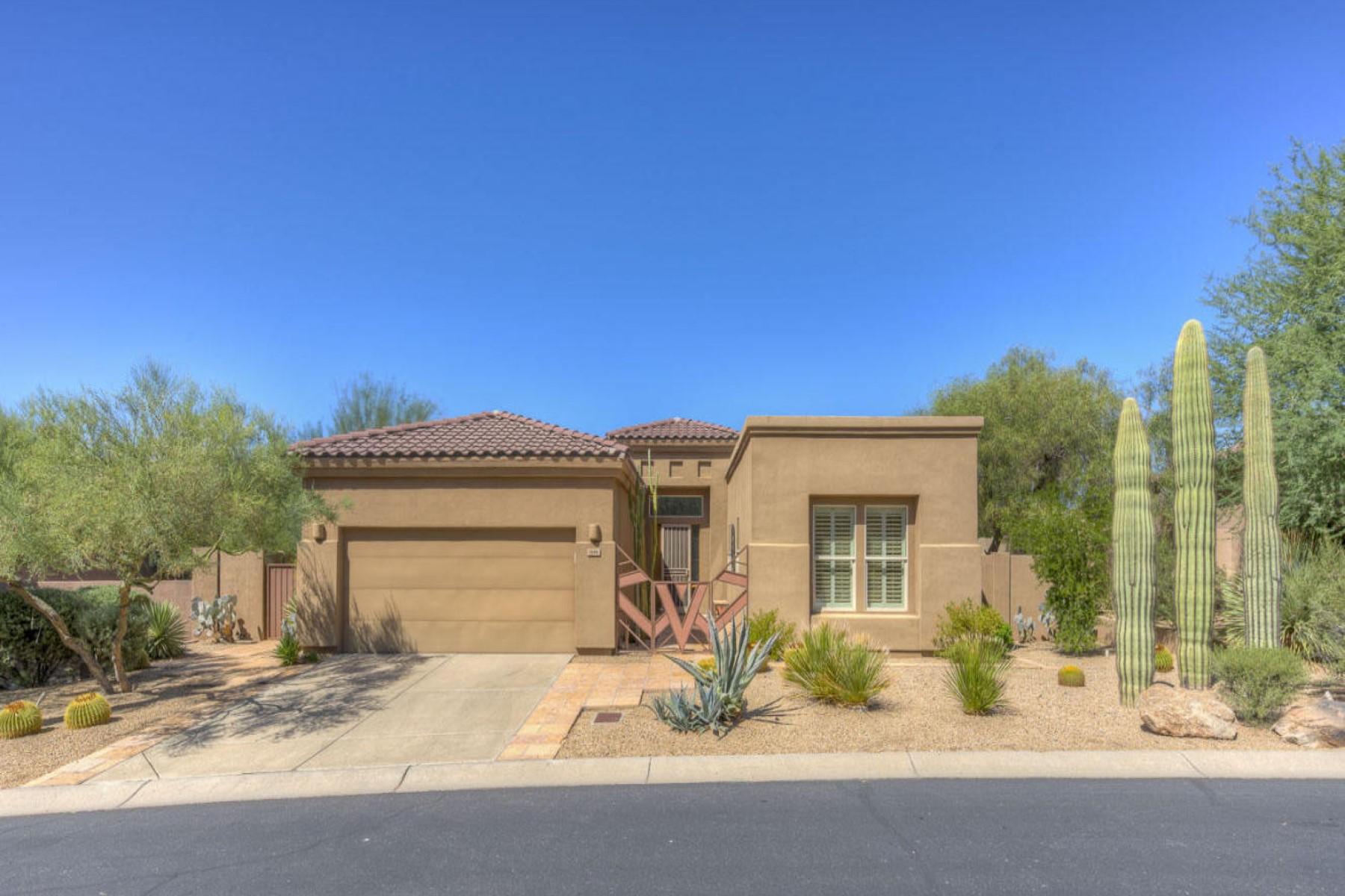 Частный односемейный дом для того Продажа на Immaculate home with stunning views of Black Mountain 7296 E Soaring Eagle Way Scottsdale, Аризона, 85266 Соединенные Штаты