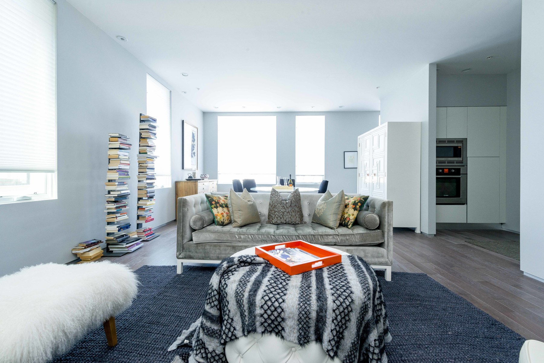 Condominium for Sale at Elevator building with ultra contemporary amenities include huge 10+ foot ceilin 537 E 1st Street Unit 1 South Boston, Boston, Massachusetts, 02127 United States