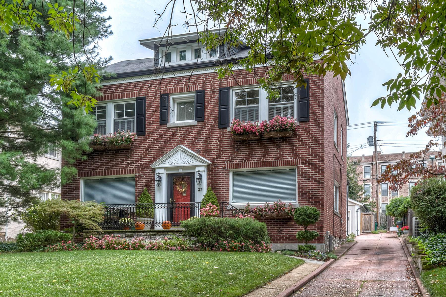 Maison unifamiliale pour l Vente à Hillcrest's Most Trasitional Open Floor Plan! 27 Dartford Ave Clayton, Missouri 63105 États-Unis