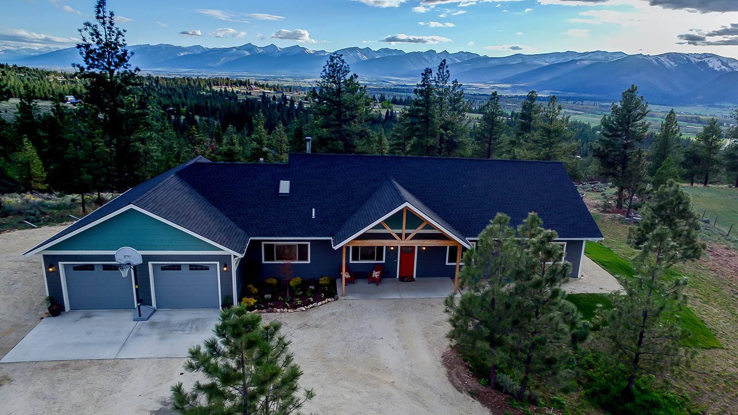 Single Family Home for Sale at 475 Cloudview Lane Stevensville, Montana, 59870 United States