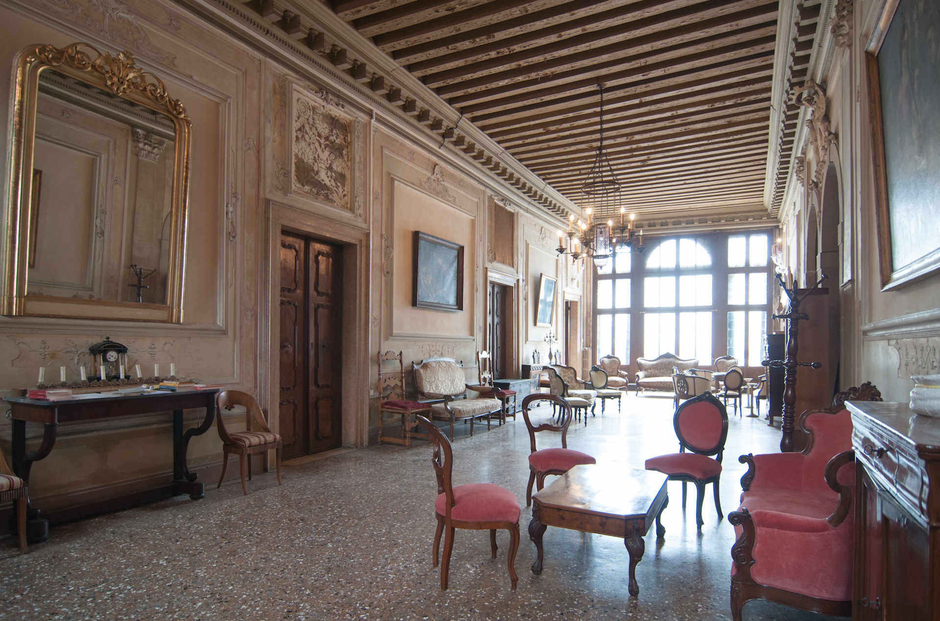 sales property at Historic Piano Nobile with canal views and terrace Cannaregio