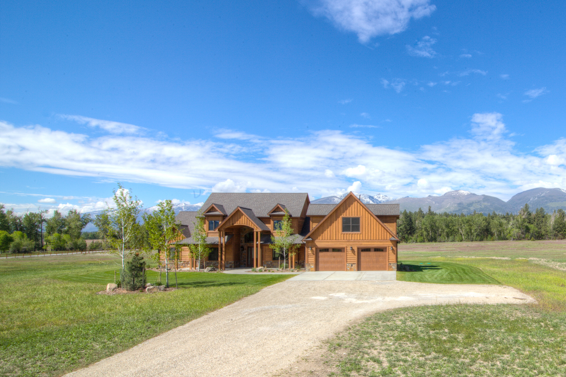 Maison unifamiliale pour l Vente à Burr Creek Ranch 326 Hillside Ranch Road Victor, Montana 59875 États-Unis