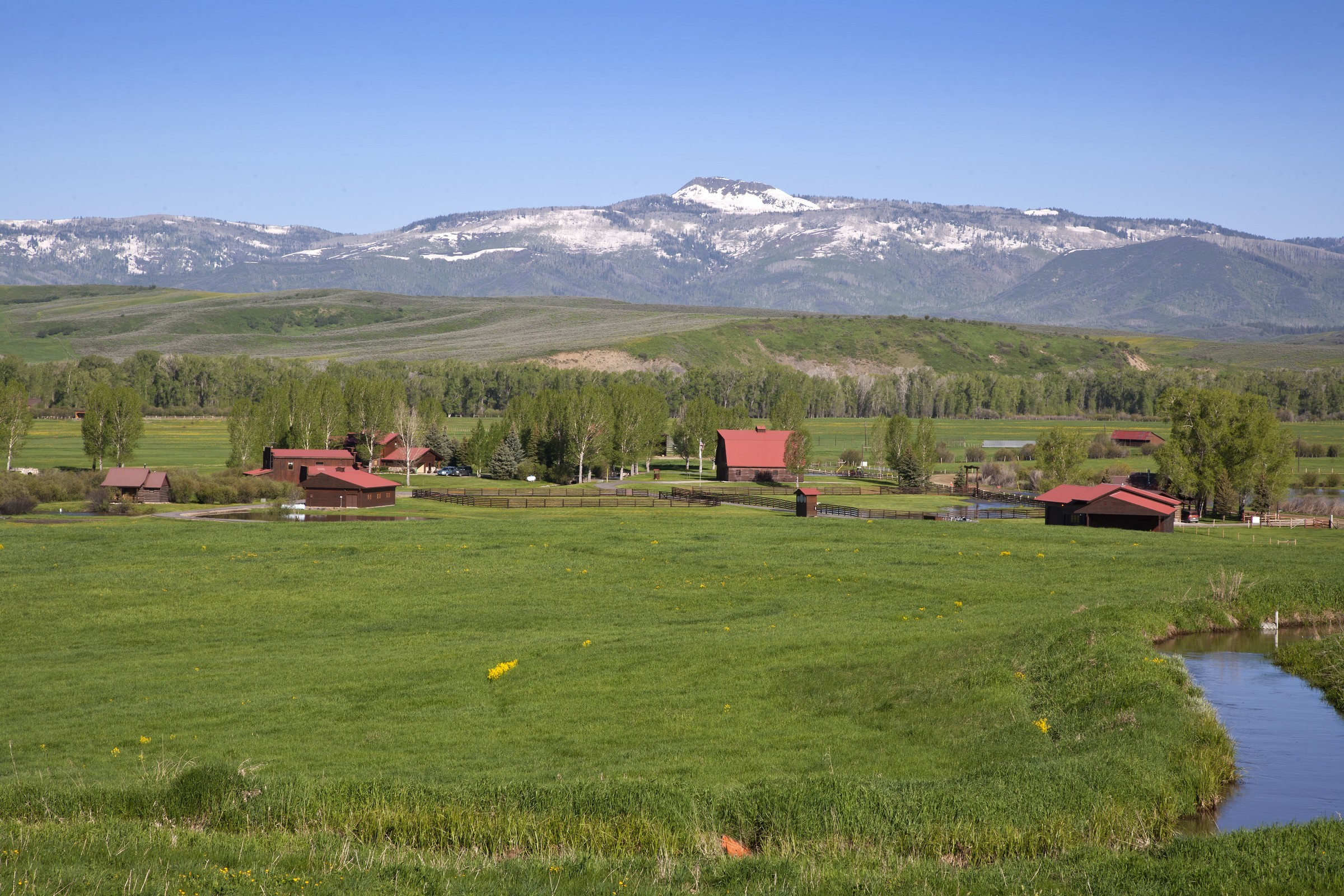 Farm / Ranch / Plantation for Sale at Elk River Ranch 25563 County Road 54 Steamboat Springs, Colorado 80487 United States