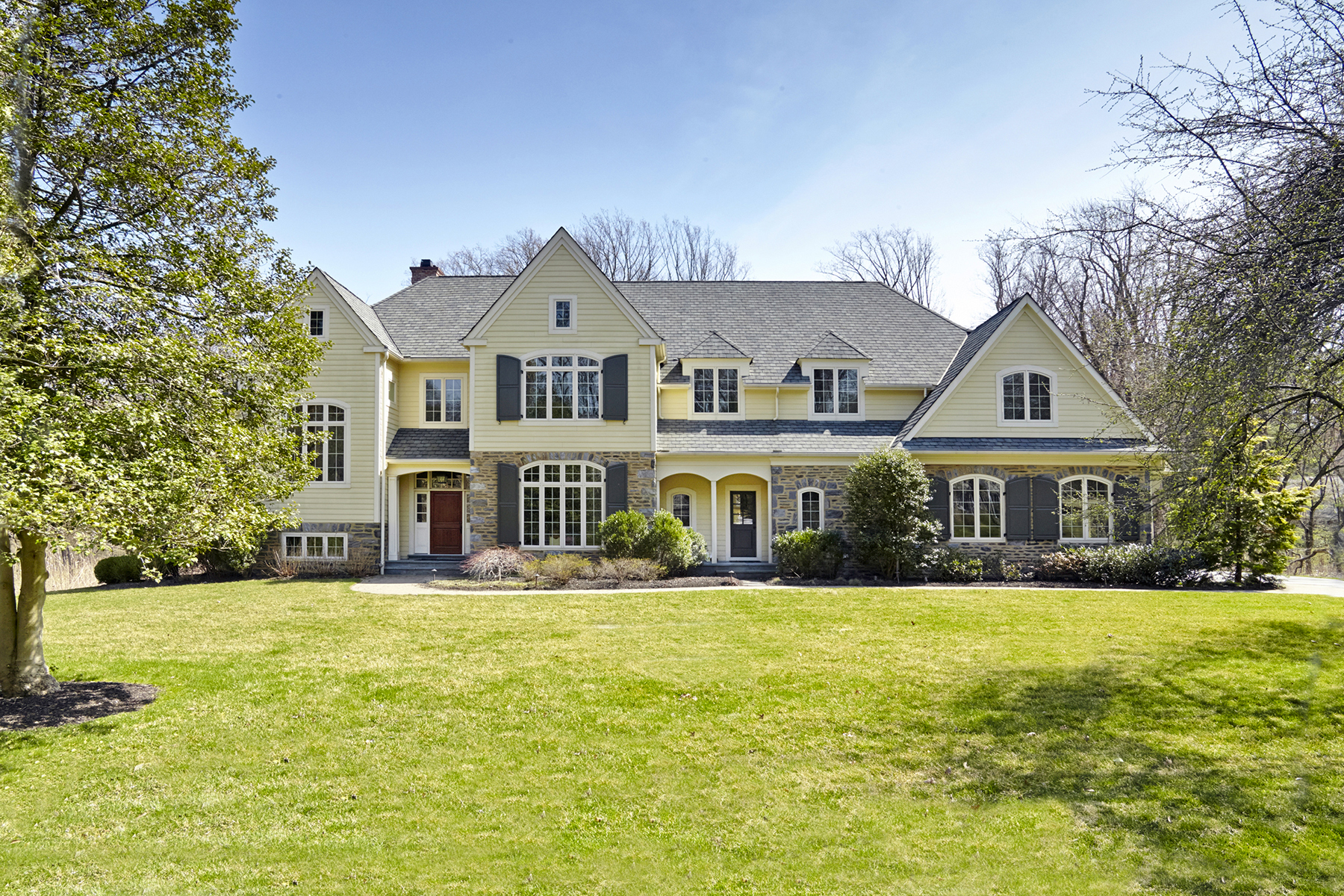 Single Family Home for Sale at Springhouse Estate Manor 515 Great Springs Road Bryn Mawr, Pennsylvania 19010 United States