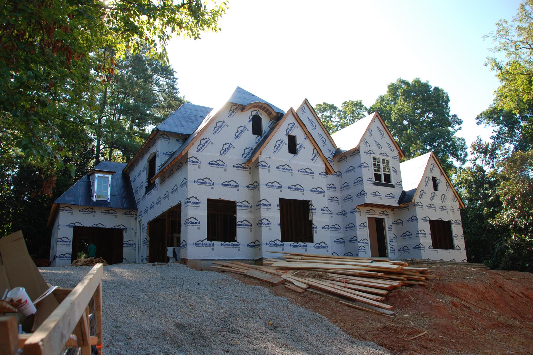 獨棟家庭住宅 為 出售 在 Chastain Area New Construction 192 Pine Lake Drive Sandy Springs, 喬治亞州 30327 美國