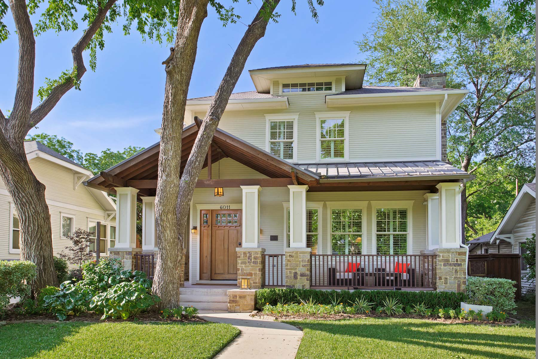 sales property at Remarkable East Dallas Craftsman