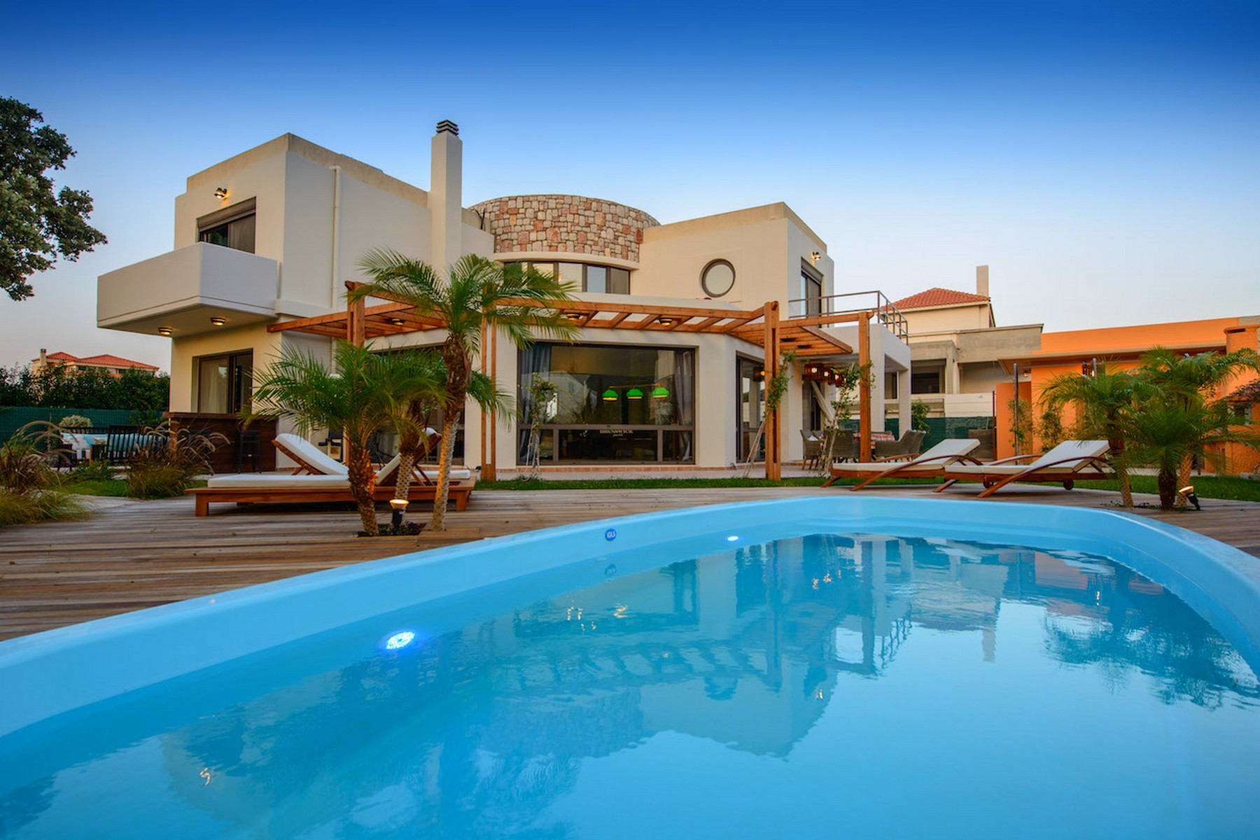 Single Family Home for Sale at Mystic Topaz Ialyssos, Rhodes, Dodekanese Rhodes, Southern Aegean, 85100 Greece