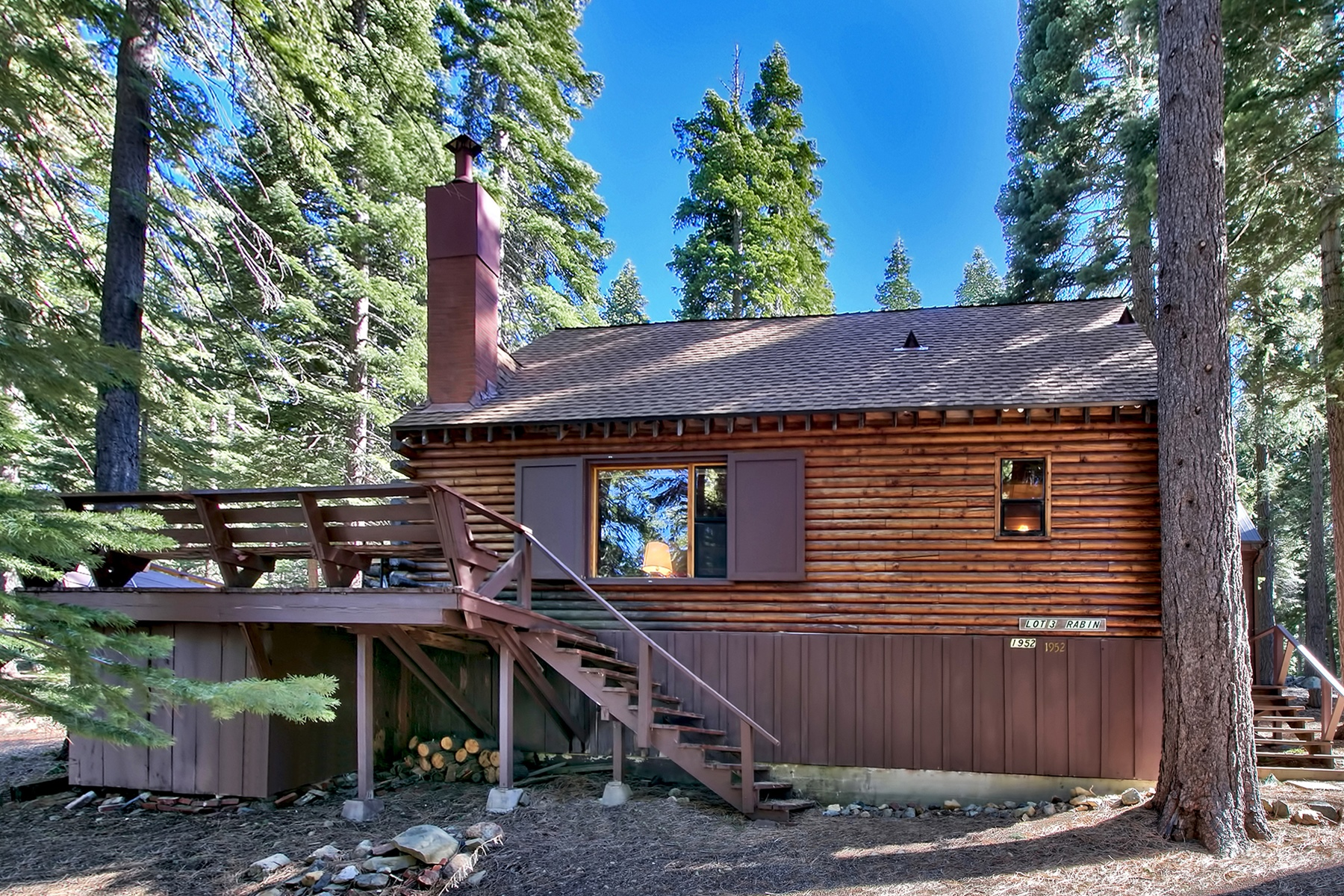 Single Family Home for Active at 1952 Spring Creek 1952 Spring Creek Road South Lake Tahoe, California 96150 United States