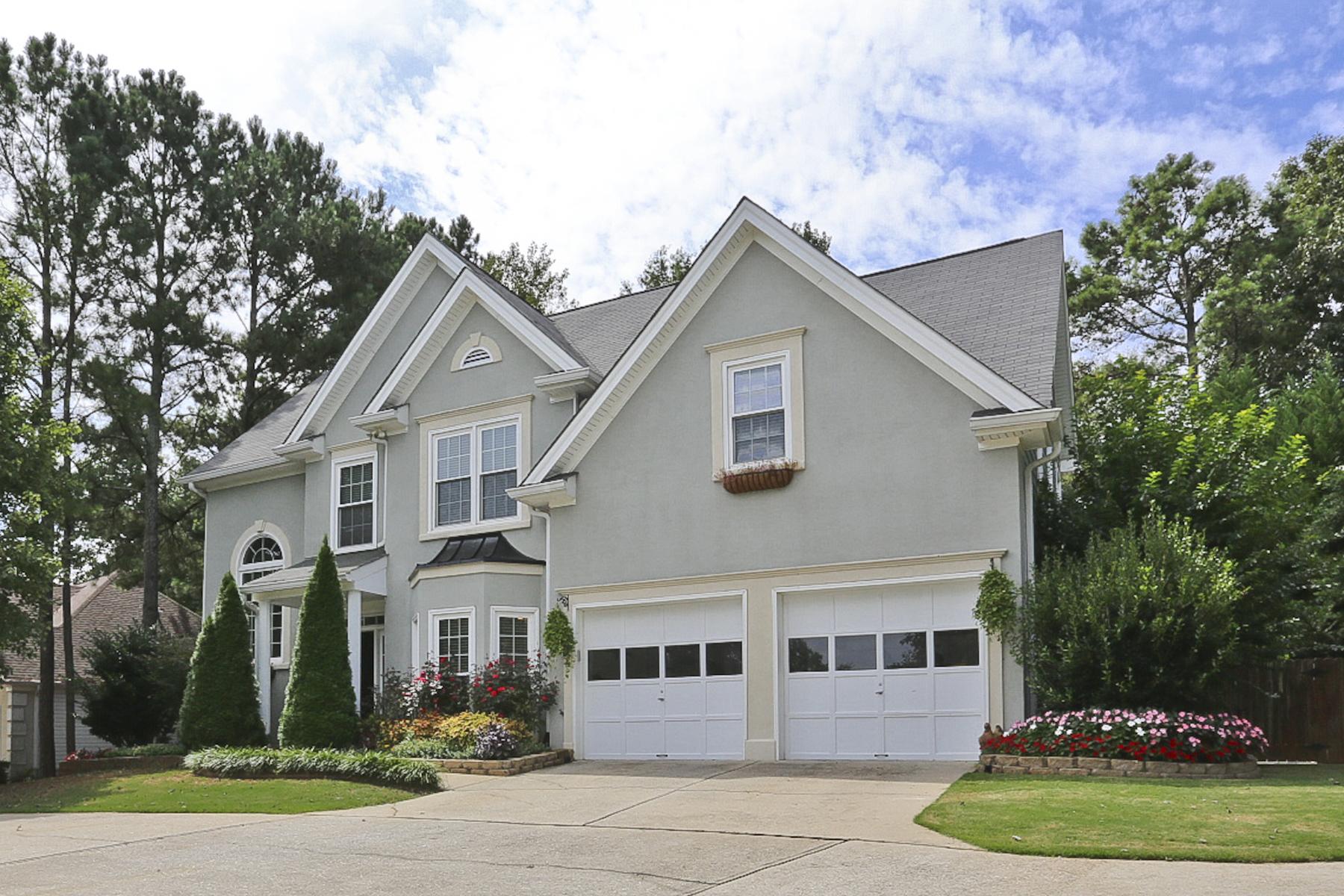 Villa per Vendita alle ore Charming Curb Appeal In Desirable South Forsyth Neighborhood 5505 Kennemore Drive Alpharetta, Georgia 30004 Stati Uniti
