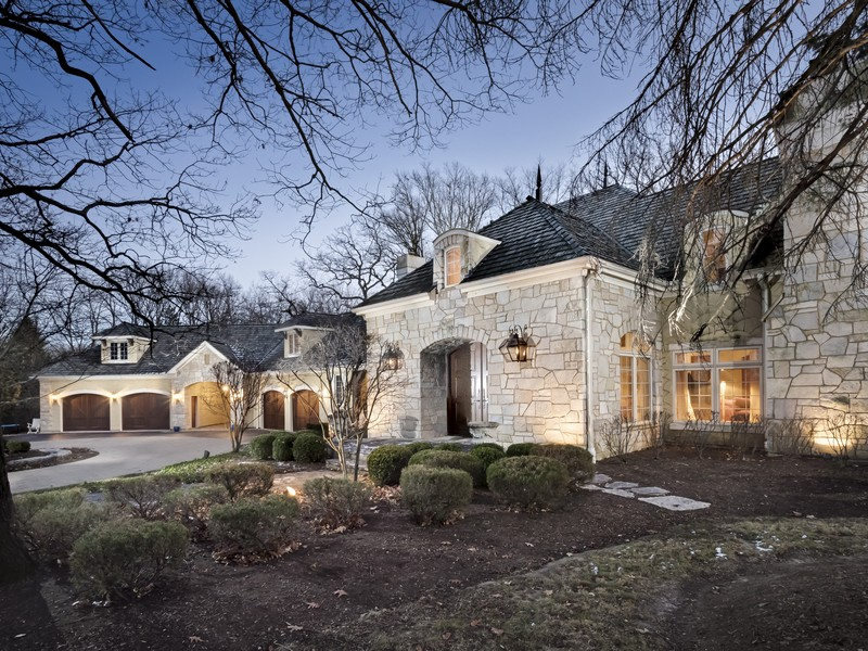 Moradia para Venda às Custom Barrington Hills Home 89 Brinker Road Barrington Hills, Illinois 60010 Estados Unidos