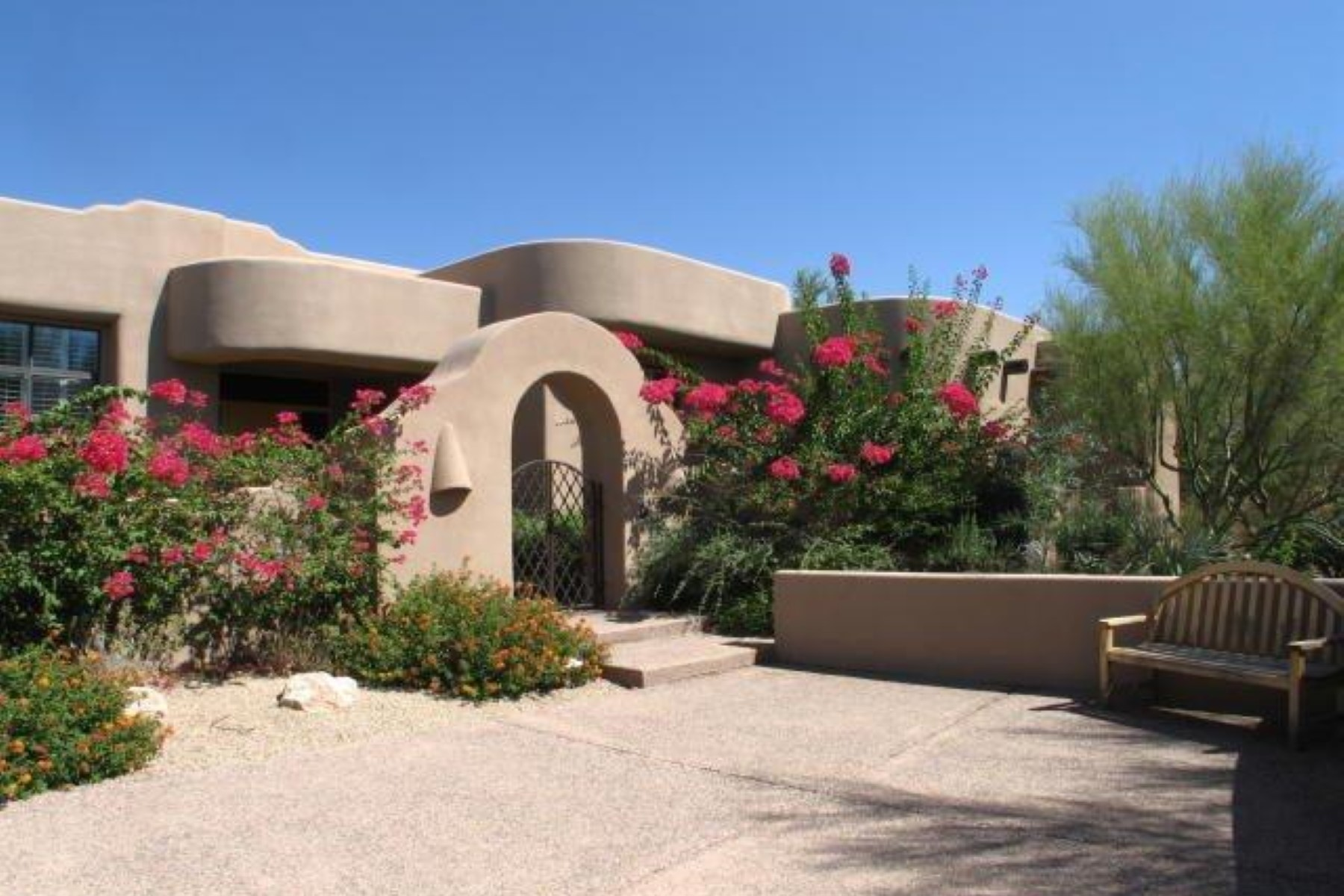 rentals property at Territorial style home  in the desirable golf gated community of Desert Highland