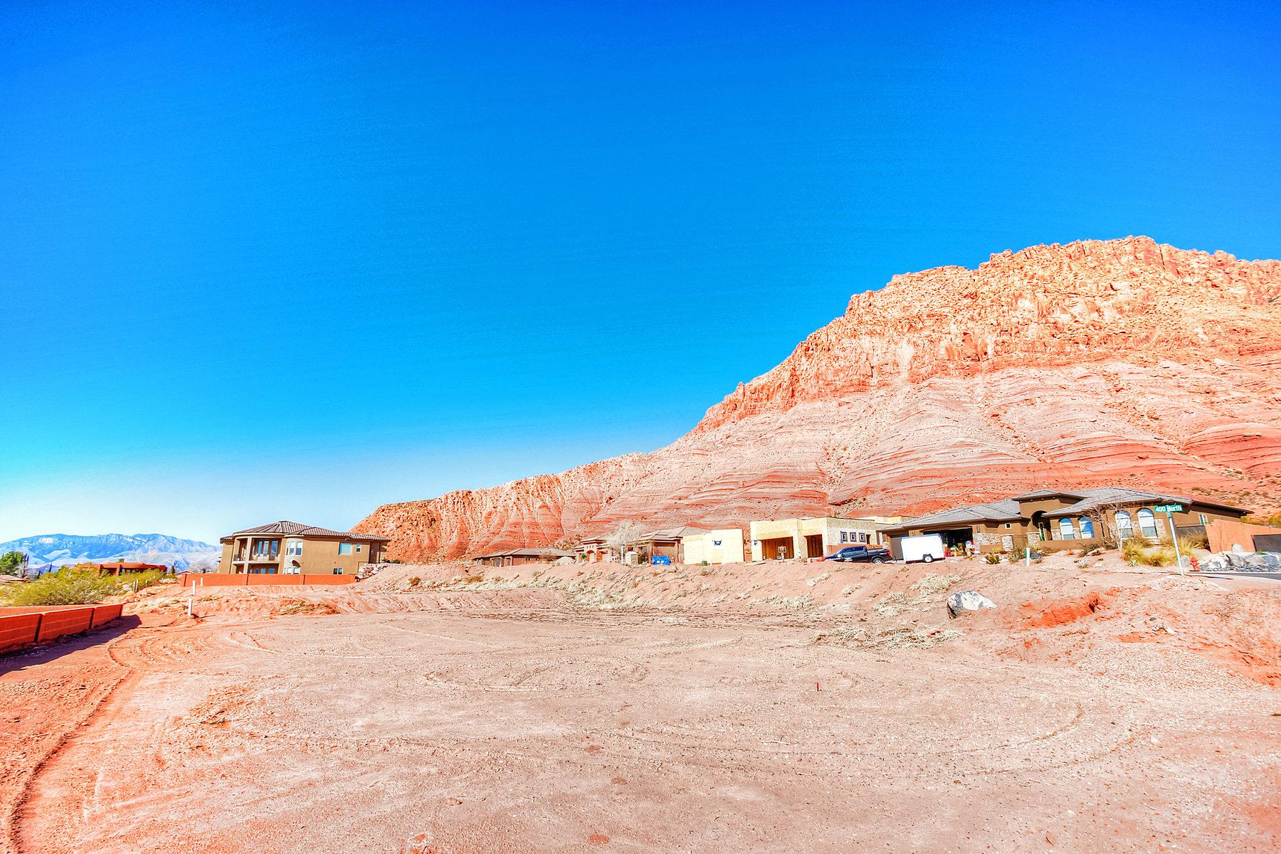 토지 용 매매 에 Red Mountain Estate View lot Lot 77 Red Mountain Estates Ivins, 유타 84738 미국