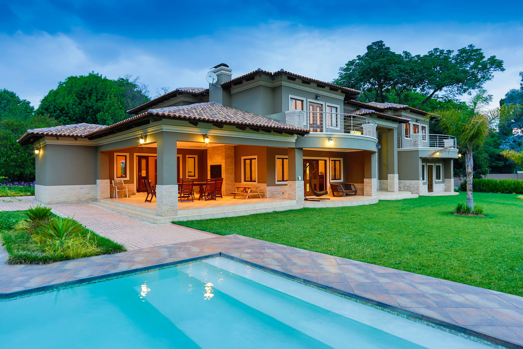 Single Family Home for Sale at Bryanston Johannesburg, Gauteng, 0000 South Africa