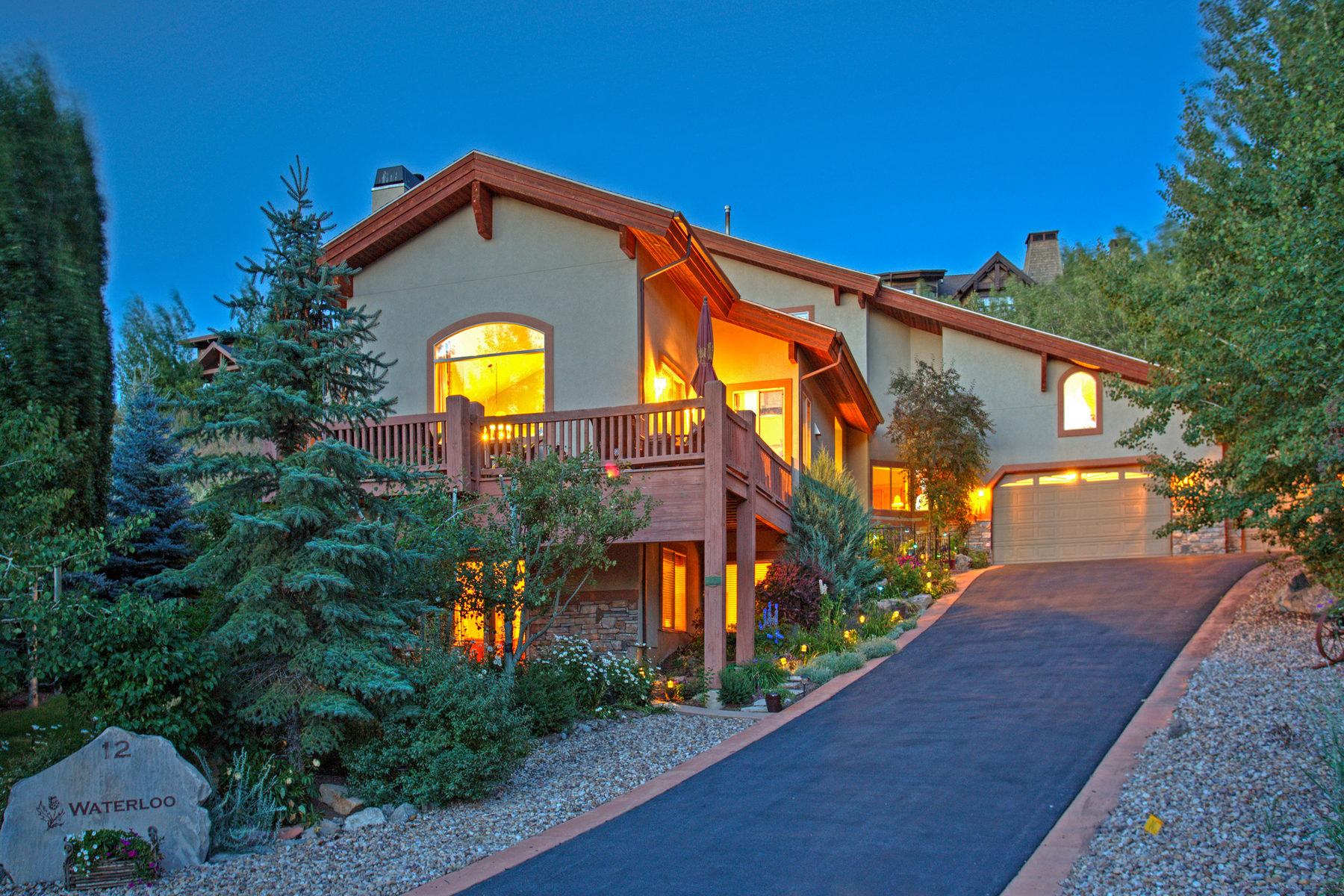 Single Family Home for Sale at One of Chatham Hills Finest Homes 12 Waterloo Cir Park City, Utah 84060 United States