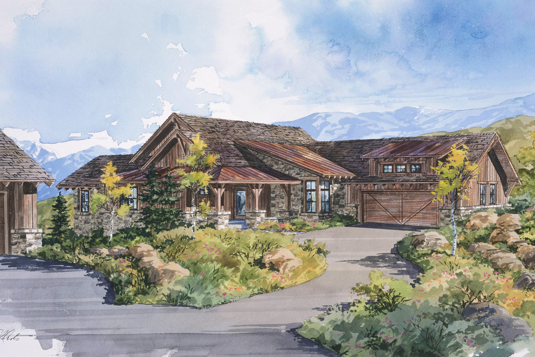 Single Family Home for Sale at Promontory Dye Course Cabin 9320 Dye Cabins Dr Lot 22 Park City, Utah, 84098 United States