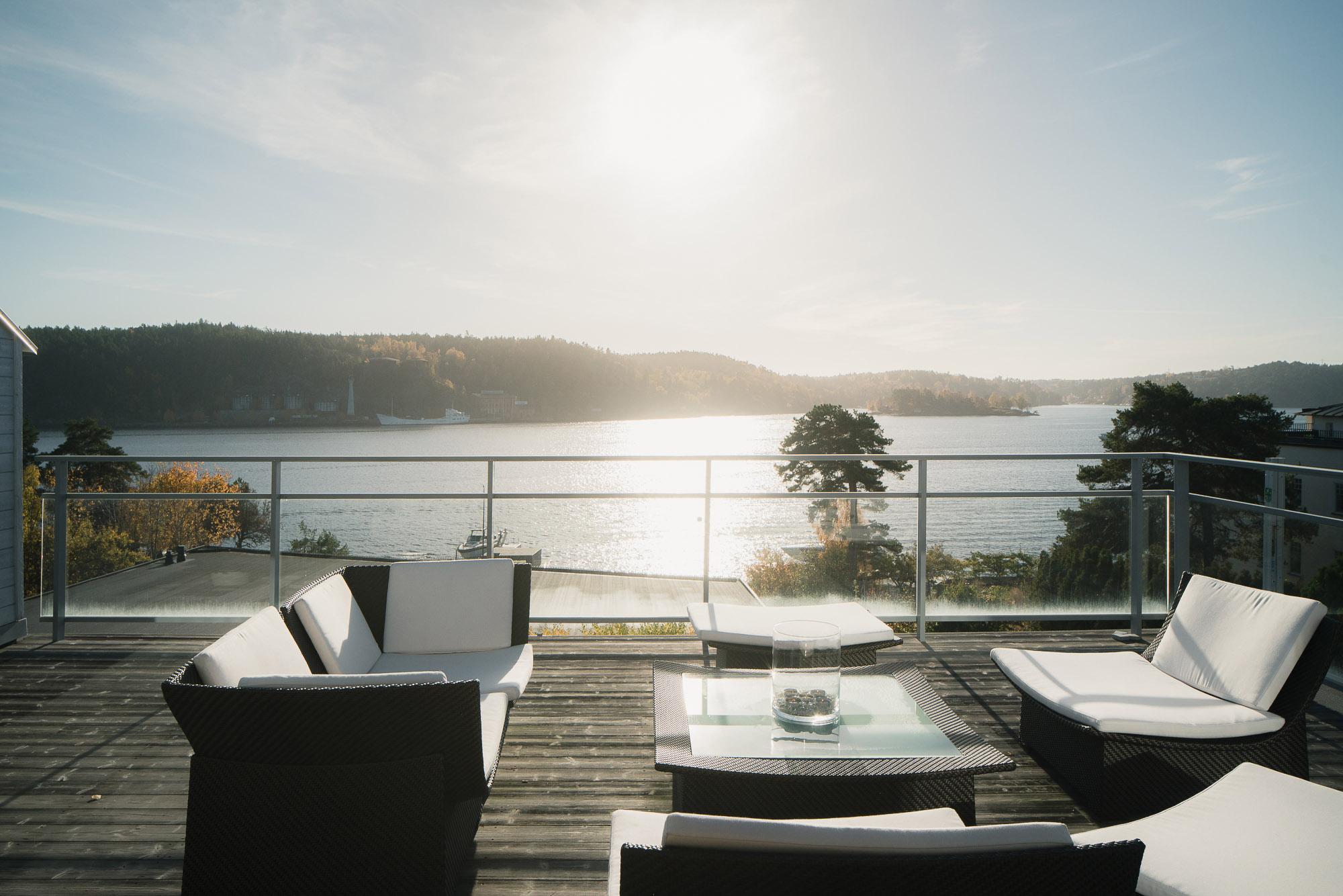 아파트 용 매매 에 Architect-designed home Lidingo, Stockholm 스웨덴
