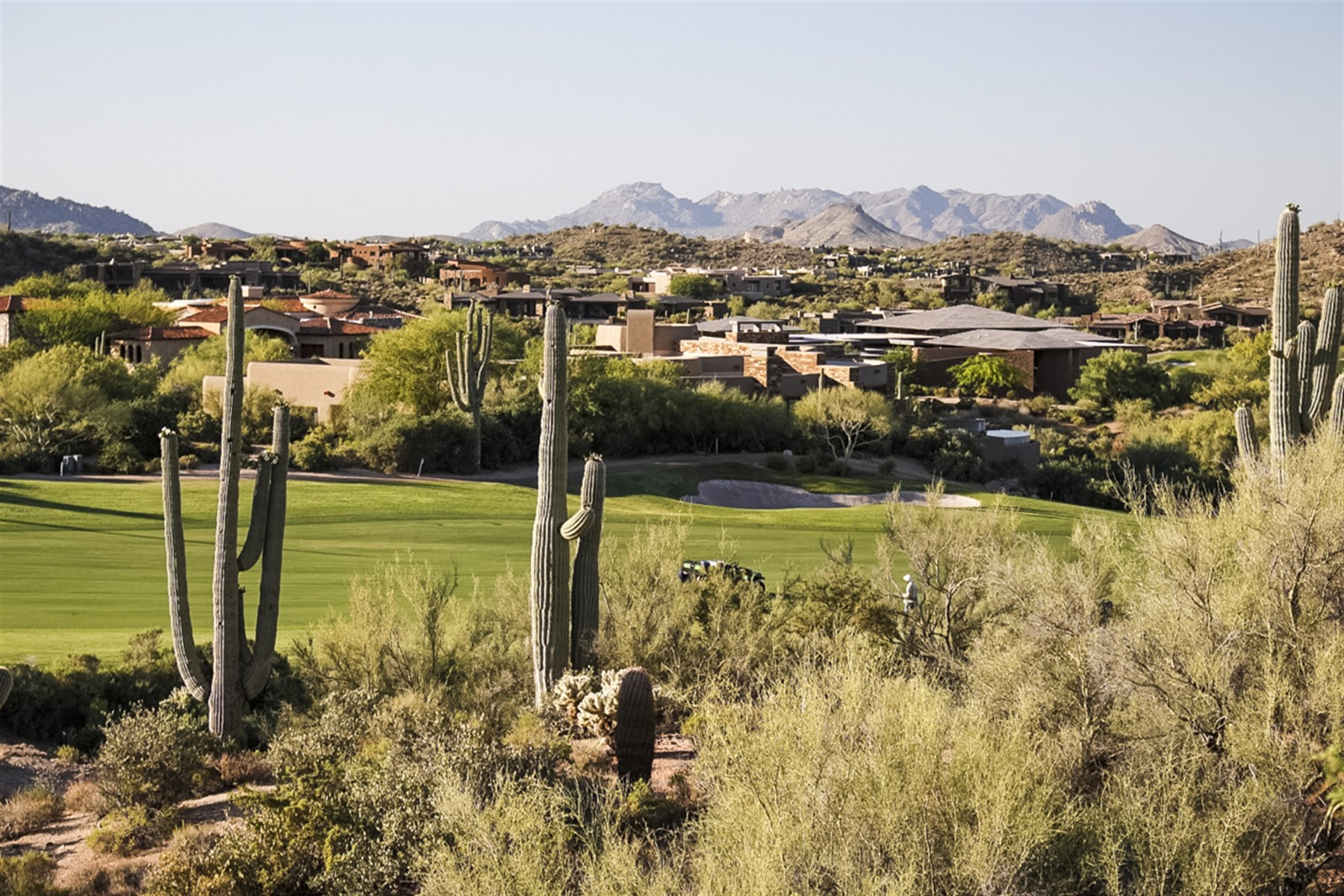 Property For Sale at Saguaro Forest ('Sunset Trail') golf course homesite.