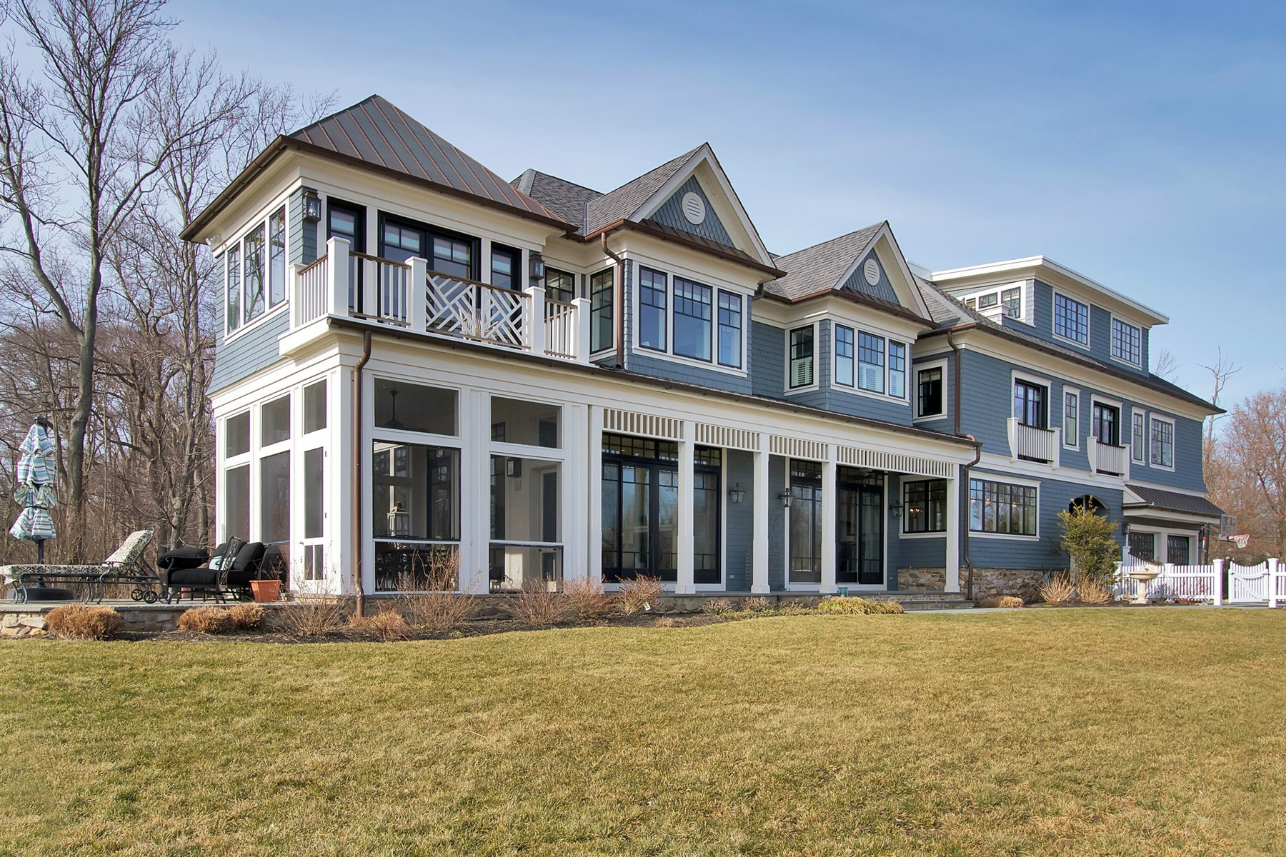 Single Family Home for Sale at Extraordinary Waterfront Home 174 Bingham Ave Rumson, New Jersey, 07760 United States