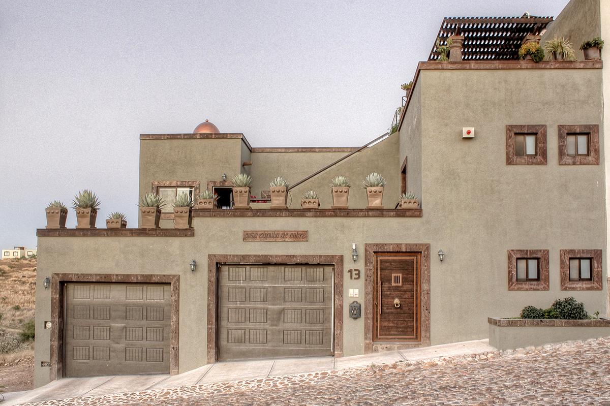 Частный односемейный дом для того Продажа на Casa de la Cupula de Cobre San Miguel De Allende, Guanajuato Мексика
