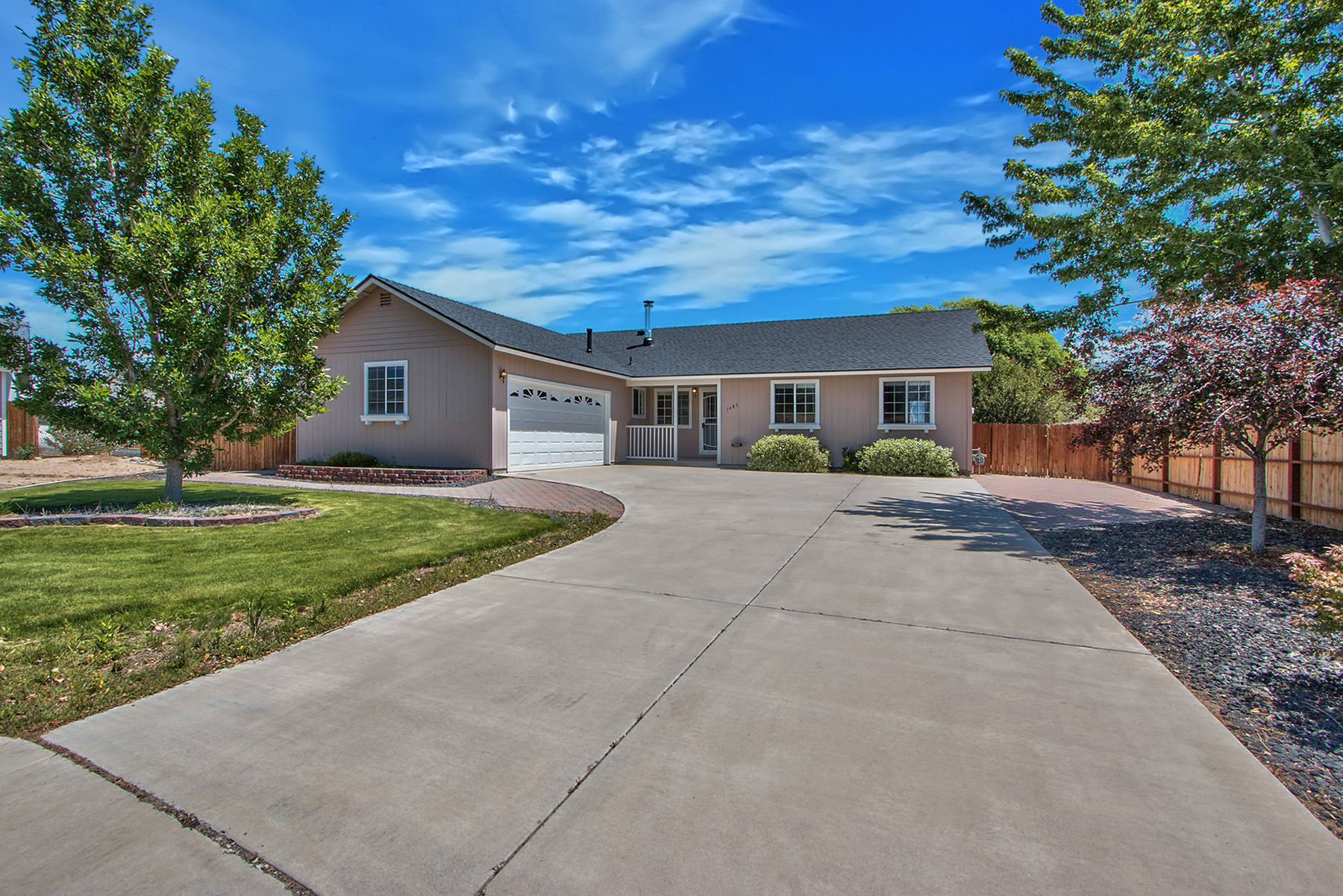 Single Family Home for Sale at 1483 Irene Court Gardnerville, Nevada 89460 United States