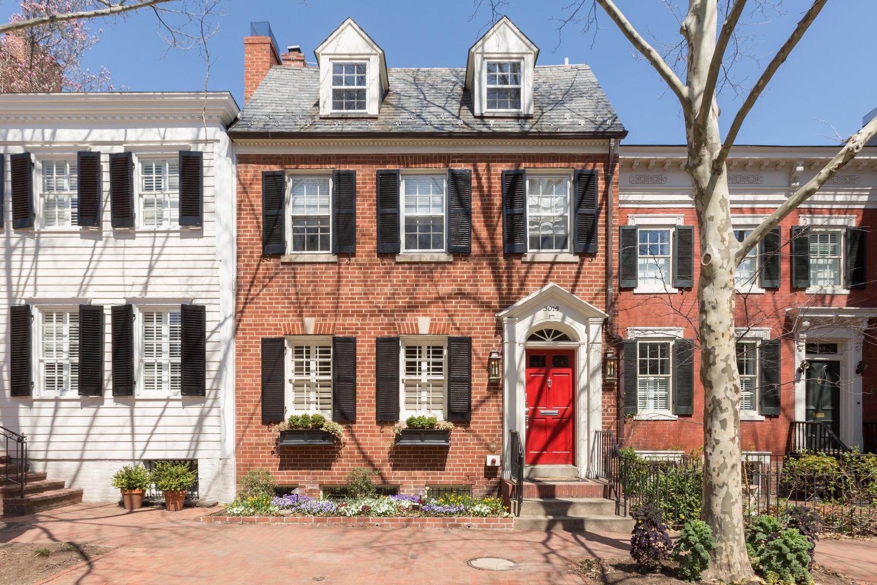 タウンハウス のために 売買 アット Georgetown 3015 P Street Nw Georgetown, Washington, コロンビア特別区 20007 アメリカ合衆国