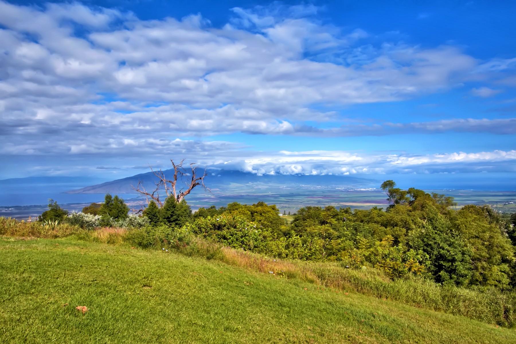 Single Family Home for Sale at Embrace Maui's Natural Beauty From 2.77 Acres On The Slopes of Haleakala 22 Malia-Iokepa Place Kula, Hawaii, 96790 United States