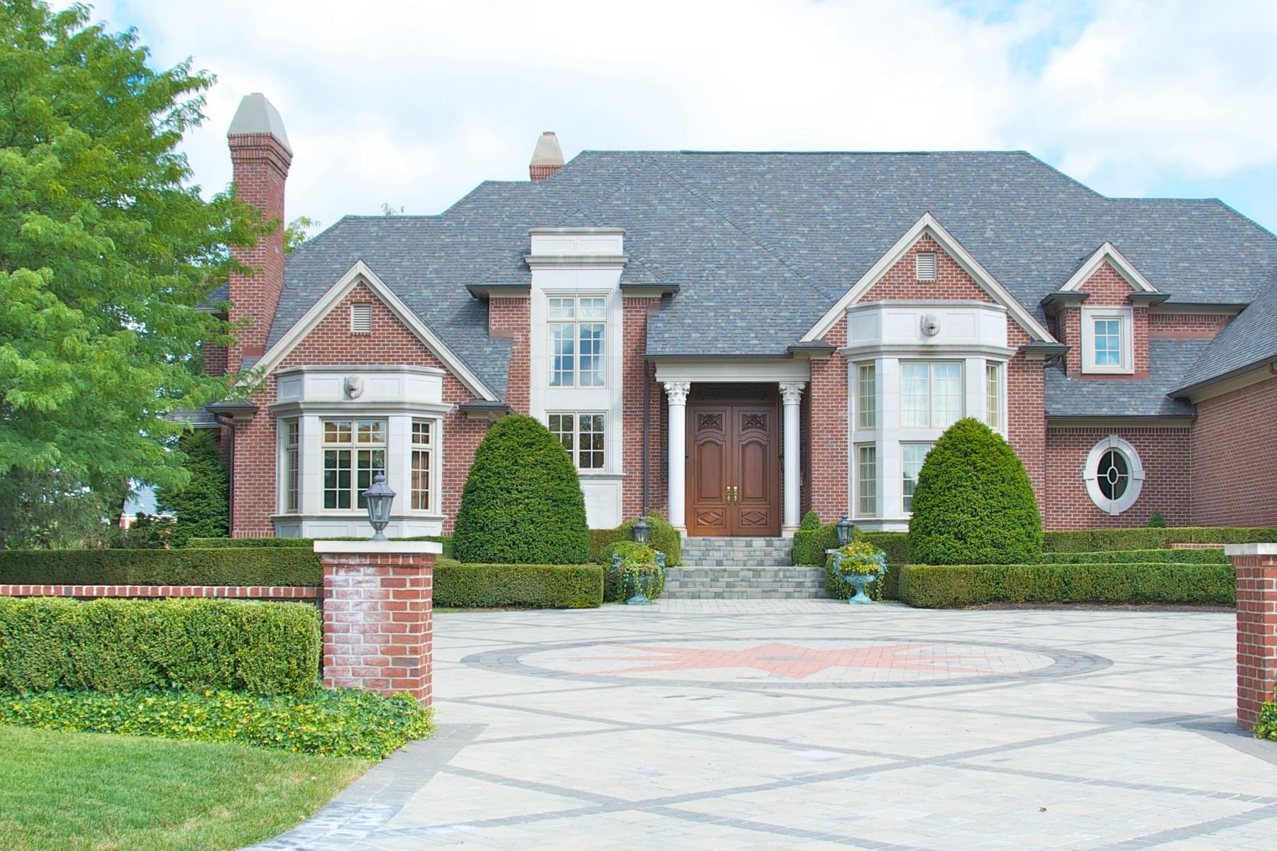独户住宅 为 销售 在 Exclusive Bridlebourne 3510 Sedgemoor Circle 卡梅尔, 印第安纳州, 46032 美国