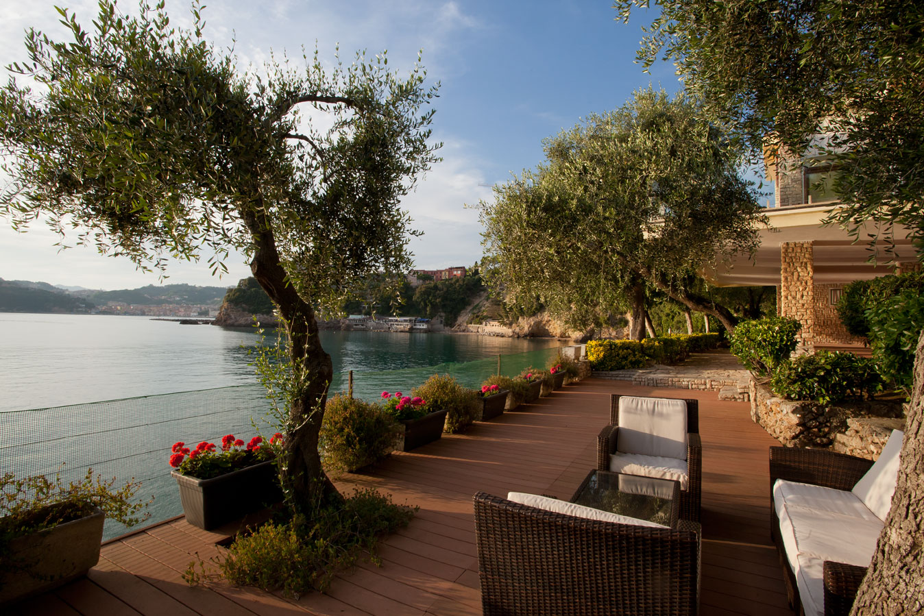 Additional photo for property listing at Spectacular waterfront villa with direct sea-access Maralunga Lerici, La Spezia 19032 Italia