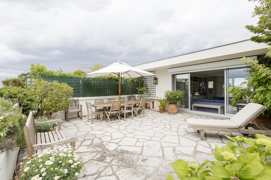 Apartman Dairesi için Satış at Apartment with terraces facing the Bois de Boulogne Paris, Paris 75016 Fransa