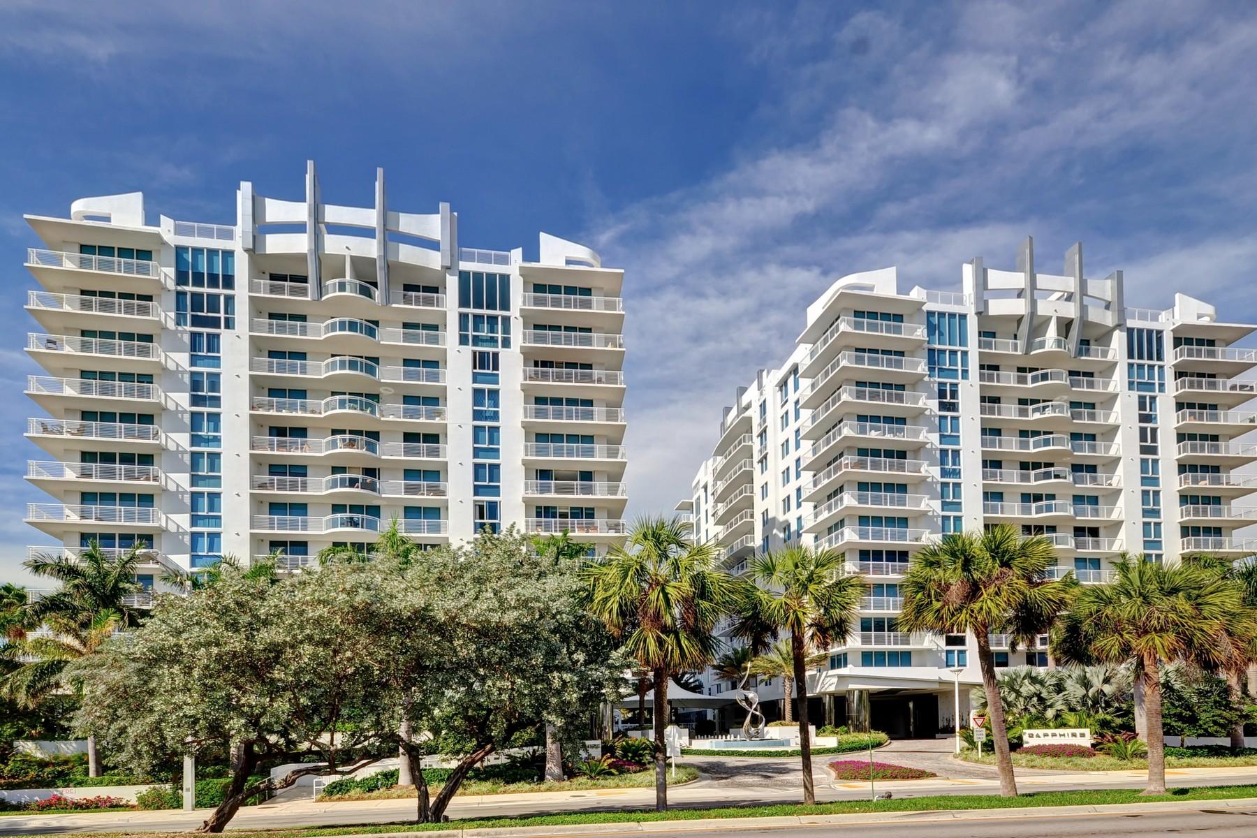 共管式独立产权公寓 为 销售 在 Sapphire Fort Lauderdale 2821 N. Ocean Blvd Unit #1005S 劳德代尔堡, 佛罗里达州, 33308 美国