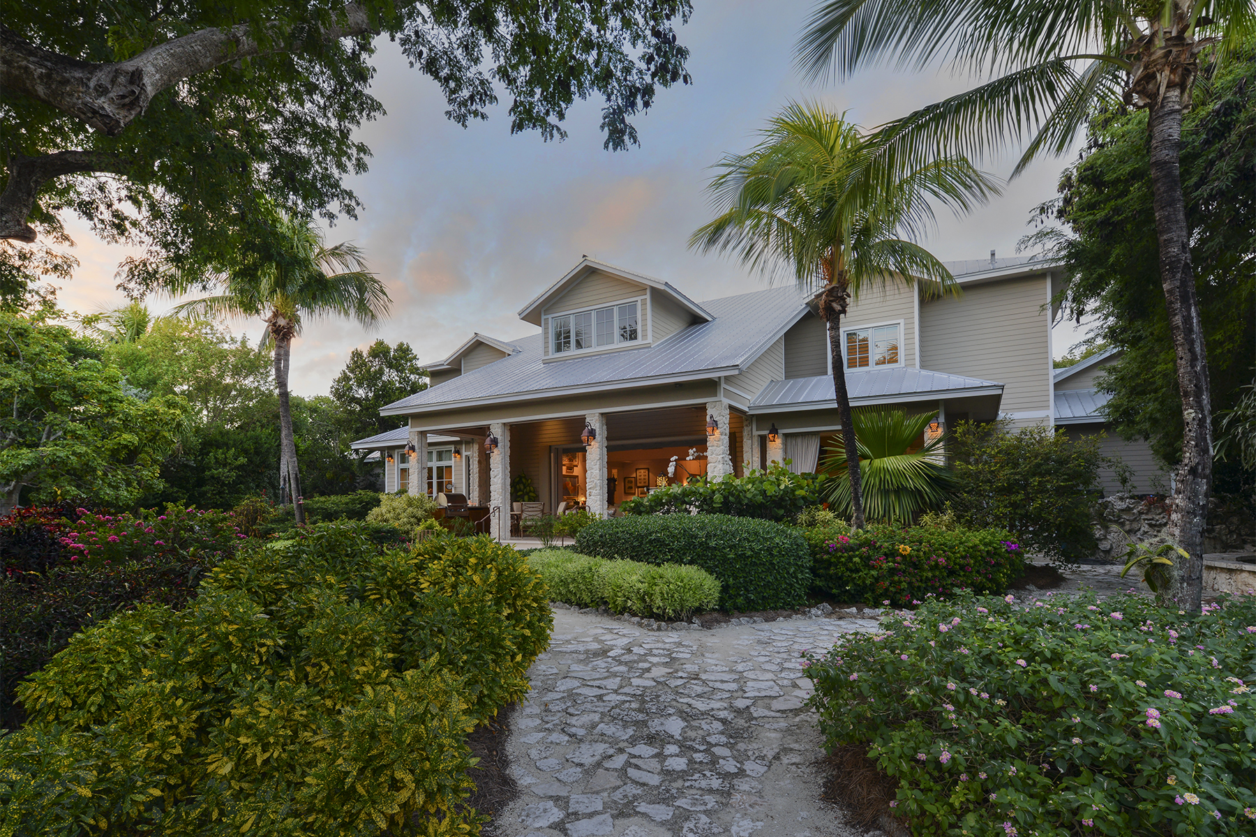 sales property at Custom Lakefront Home at Key Largo Anglers Club