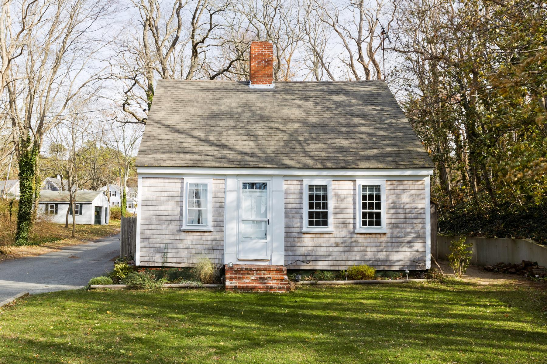 Single Family Home for Sale at Antique Cape 5 Meetinghouse Road Truro, Massachusetts 02666 United States